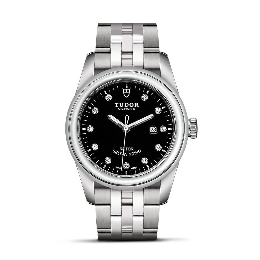 Tudor Glamour Date Ladies' Stainless Steel Bracelet Watch - Product number 1129260