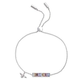 Olivia Burton Rainbow Bee Baguette Bar Crystal Bracelet - Product number 1130714