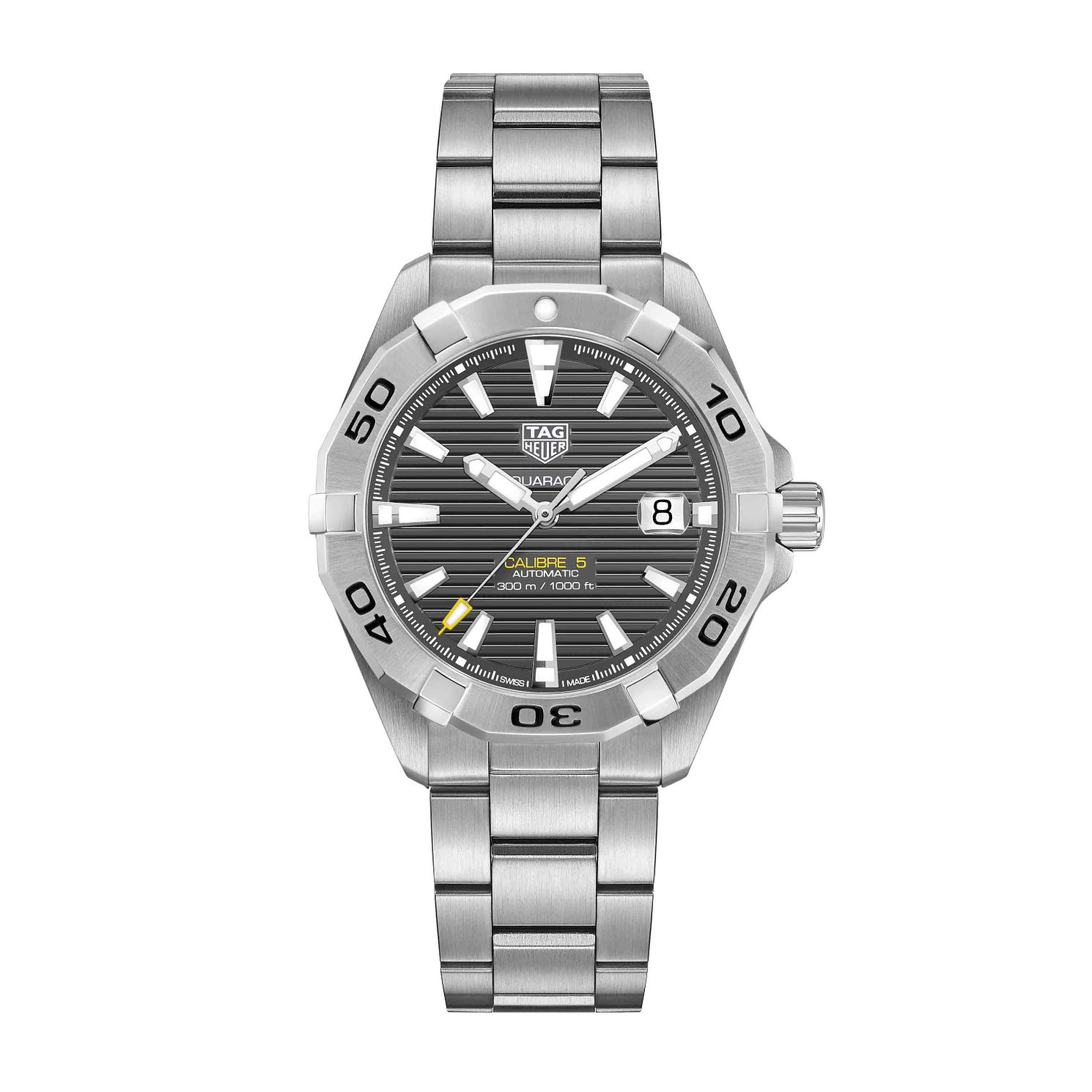 TAG Heuer Aquaracer Men's Stainless Steel Bracelet Watch - Product number 1132695