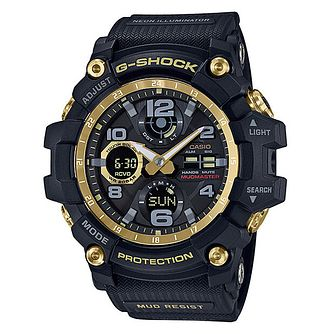Casio G-Shock Mudmaster Men's Black Resin Strap Watch - Product number 1138014