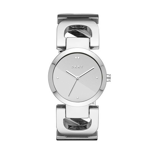 DKNY Ladies' City Stainless Steel Link Bracelet Watch - Product number 1138634