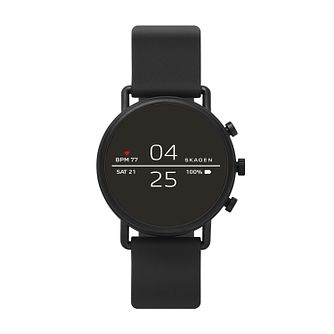 Skagen Connected Men's Digital Black Silicone Strap Watch - Product number 1138642