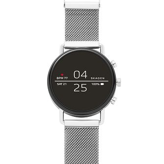 Skagen Connected Gen 4 Digital Silver Tone Bracelet Watch - Product number 1138650