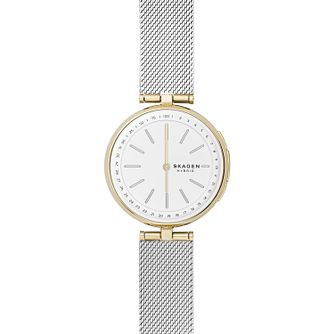 Skagen Hybrid Ladies' Two-Tone Mesh Bracelet Watch - Product number 1138669