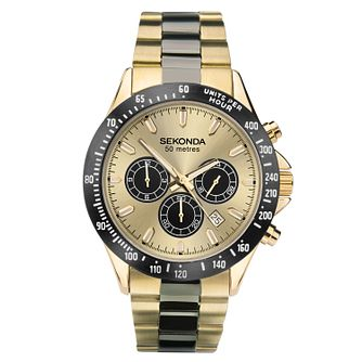 Sekonda Men's Two-Tone Stainless Steel Bracelet Watch - Product number 1141481