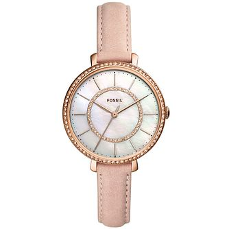 Fossil Jocelyn Ladies' Nude Leather Watch - Product number 1142194