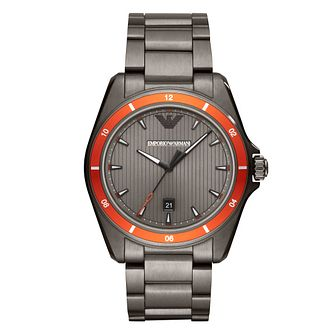 Emporio Armani Men's Stainless Steel Bracelet Watch - Product number 1142305