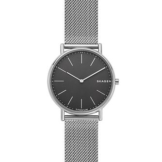Skagen Signatur Slim Men's Mesh Bracelet Watch - Product number 1142402