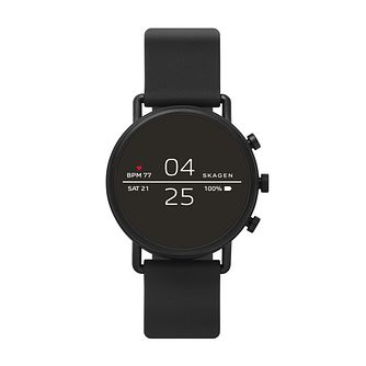 Skagen Ip Connected Falster 2 Black Strap Watch - Product number 1142429