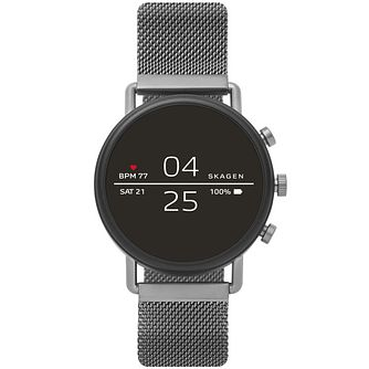 Skagen Ip Connected Falster 2 Gunmetal Bracelet Watch - Product number 1142461