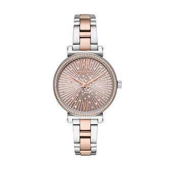 Michael Kors Sofie Ladies' Two-Tone Bracelet Watch - Product number 1142542