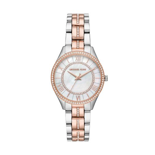 Michael Kors Lauryn Ladies' Two-Tone Bracelet Watch - Product number 1142585