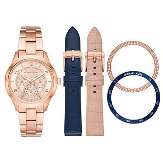 Michael Kors Runway Ladies' Watch Gift Set - Product number 1142593
