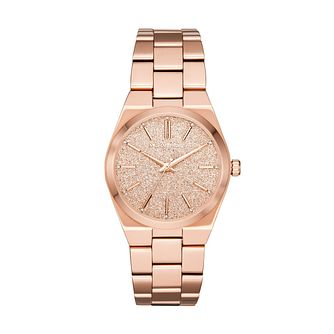 Michael Kors Channing Ladies' Rose Gold Tone Bracelet Watch - Product number 1142666