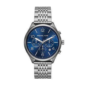 Michael Kors Merrick Men's Ion Plated Bracelet Watch - Product number 1142747