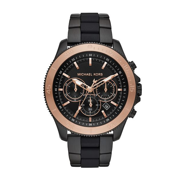 Michael Kors Cortlandt Men's Ion Plated Bracelet Watch - Product number 1142828