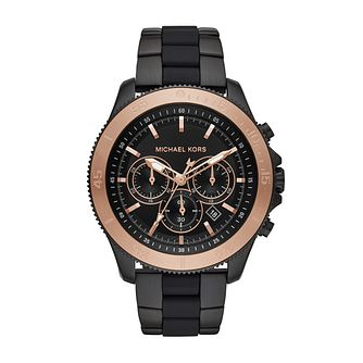 Michael Kors Theroux Men's Ion Plated Bracelet Watch - Product number 1142828