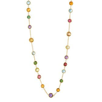 Marco Bicego Jaipur 18ct Yellow Gold Mix Stone Necklace - Product number 1142895