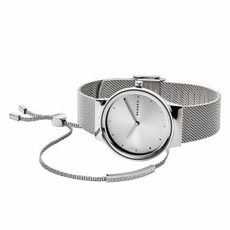Skagen Freja Ladies' Stainless Steel Bracelet Watch Set - Product number 1146289