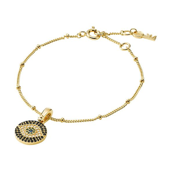 Michael Kors Gold Plated Evil Eye Cubic Zirconia Bracelet - Product number 1150243