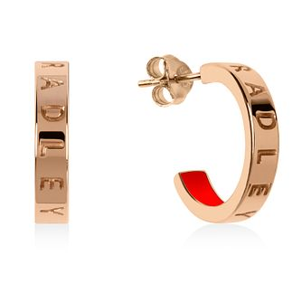 Radley Gold Tone Hoop Earrings - Product number 1151789