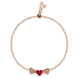Radley Rose Gold Tone Red Heart Bracelet - Product number 1158066