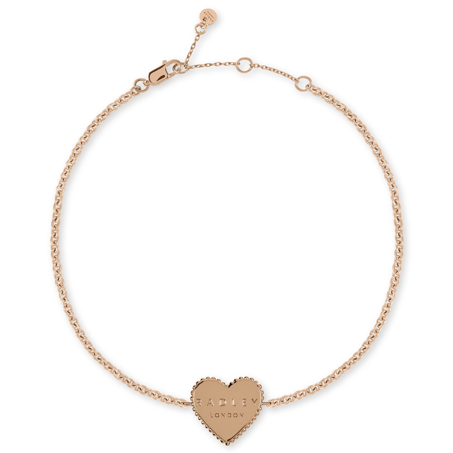 Radley Rose Gold Tone Heart Bracelet - Product number 1158074