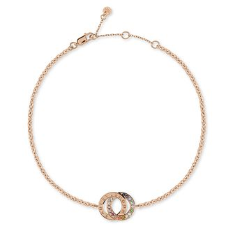 Radley Rose Gold Tone Double Loop Bracelet - Product number 1158082