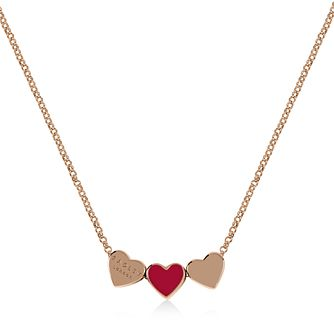 Radley Rose Gold Tone Red Heart Pendant - Product number 1158090