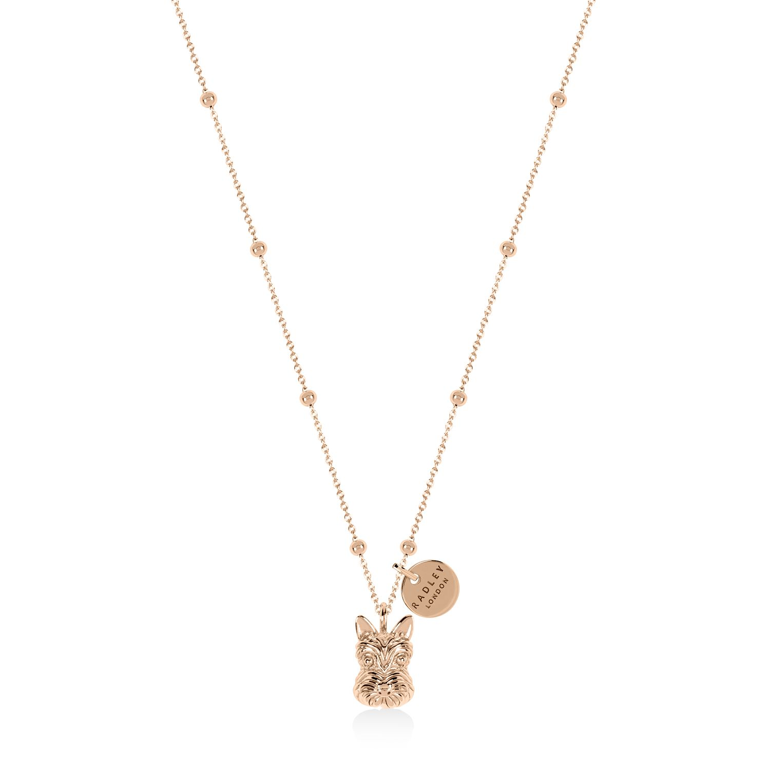 Radley Rose Gold Tone Scottie Dog Pendant - Product number 1158120