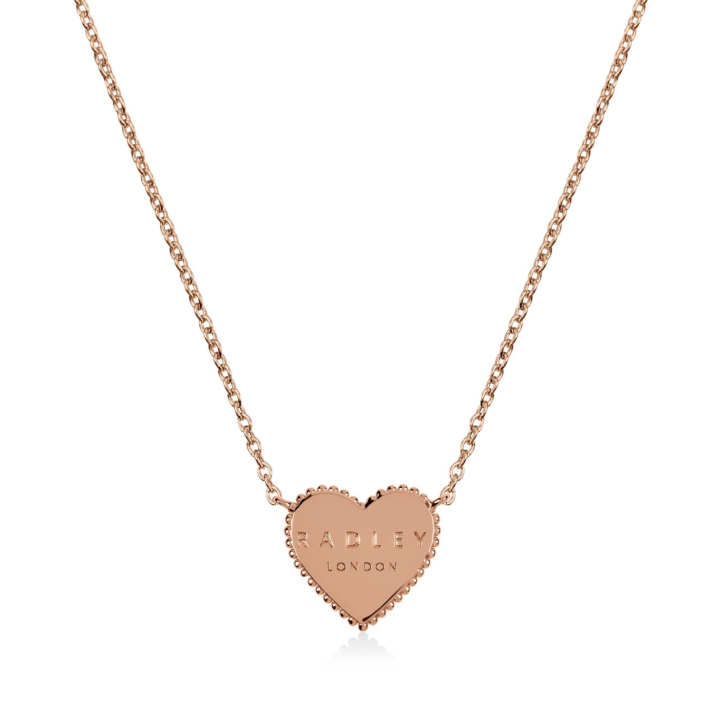 Radley Rose Gold Tone Heart Pendant - Product number 1158147