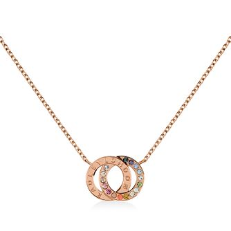 Radley Rose Gold Tone Double Loop Pendant - Product number 1158163