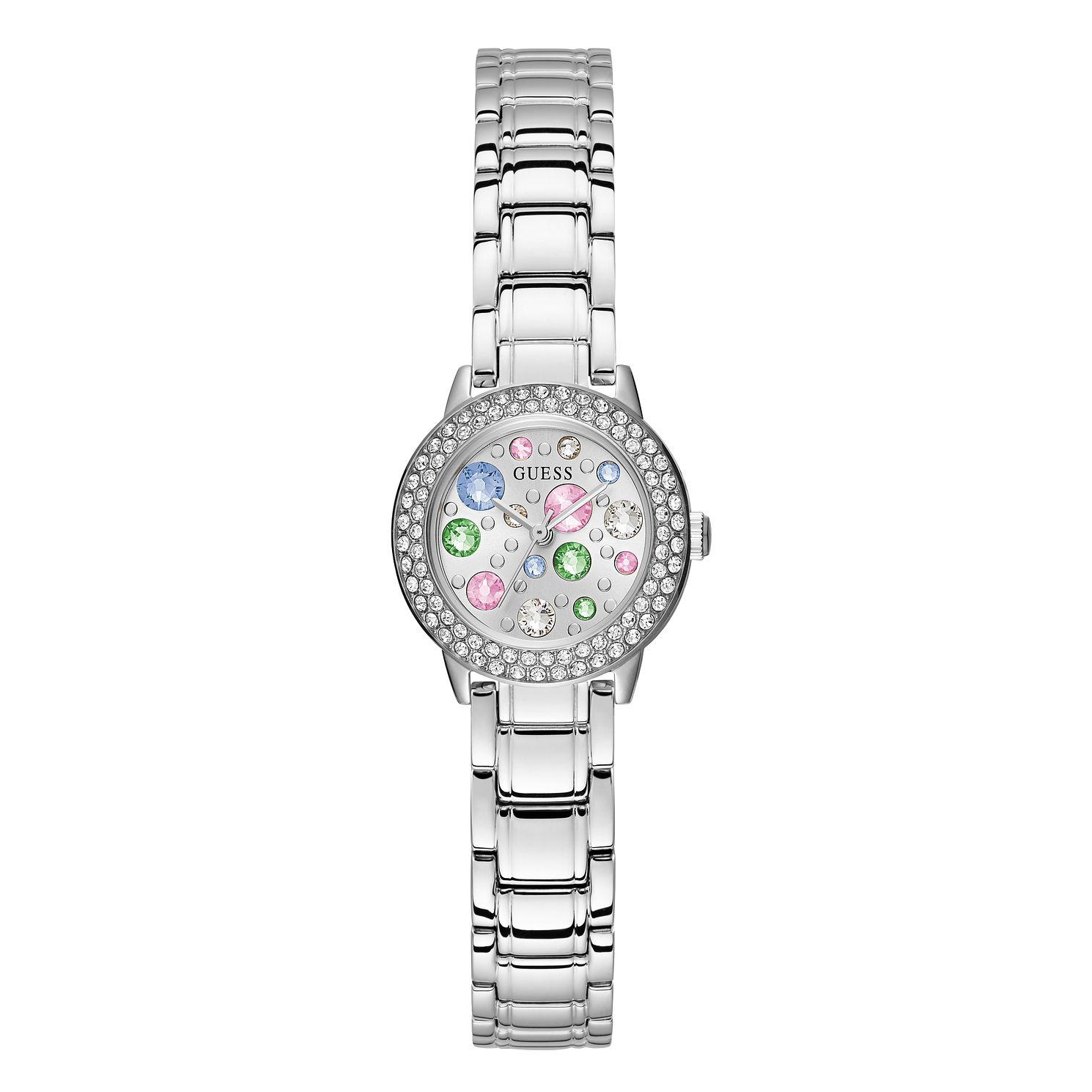Guess Gem Ladies' Stainless Steel Bracelet Watch - Product number 1160362