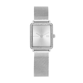 Tommy Hilfiger Ladies' Stainless Steel Mesh Bracelet Watch - Product number 1160400