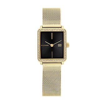 Tommy Hilfiger Ladies' Gold Tone Mesh Bracelet Watch - Product number 1160419