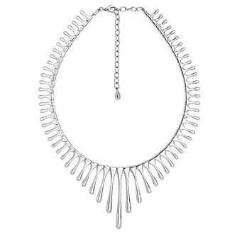 Lucy Quartermaine Silver 925 Sun Ray Drop Necklace - Product number 1160648