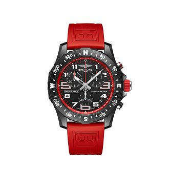 Breitling Endurance Pro Chrono Red Rubber Strap Watch - Product number 1162667
