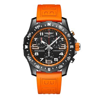 Breitling Endurance Pro Chrono Orange Rubber Strap Watch - Product number 1162853