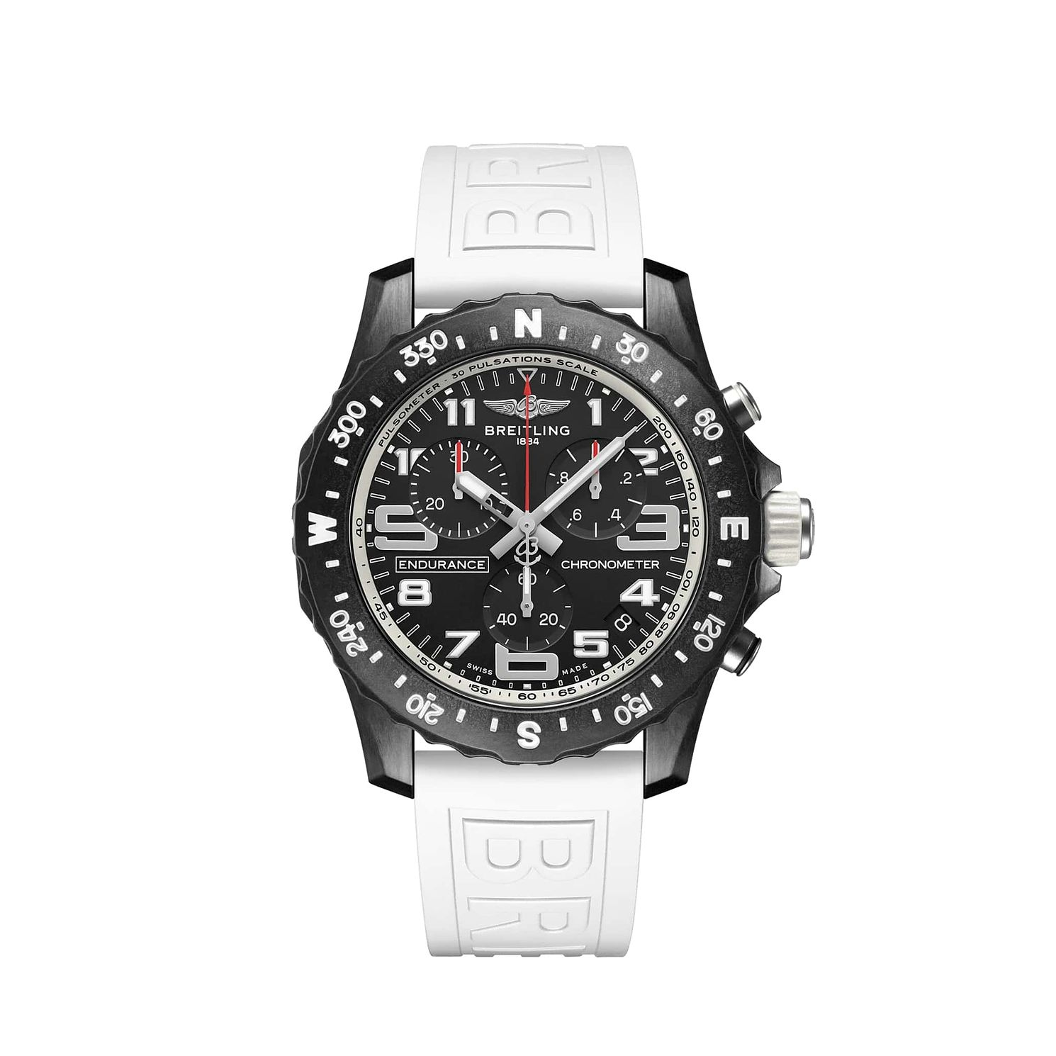 Breitling Endurance Pro Chrono White Rubber Strap Watch - Product number 1162861