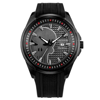 Citizen Marvel Punisher Black IP Bracelet Watch - Product number 1168762