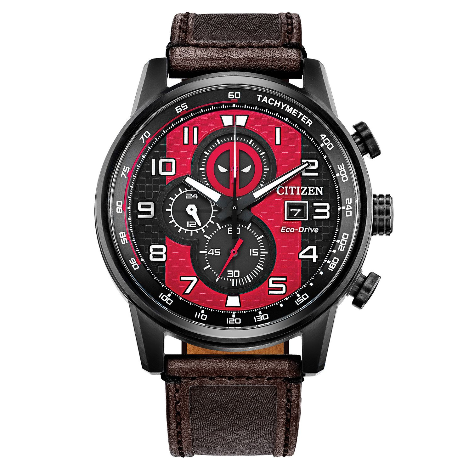 Citizen Marvel Deadpool Black IP Bracelet Watch - Product number 1168800