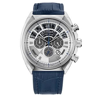 Citizen Star Wars Millennium Falcon Blue Leather Strap Watch - Product number 1168819