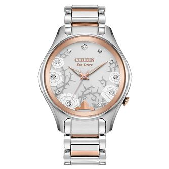 Citizen Disney Princess Aurora Two Tone Bracelet Watch - Product number 1168916