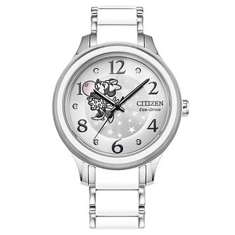Citizen Disney Minnie Mouse Stainless Steel Bracelet Watch - Product number 1168924