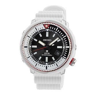 Seiko Prospex Street White Silicone Strap Watch - Product number 1168991