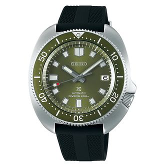 Seiko Prospex Captain Willard Black Silicone Strap Watch - Product number 1169319