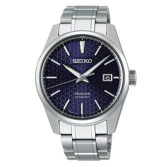 Seiko Presage Sharp Edged Men's Stainless Steel Watch - Product number 1169327