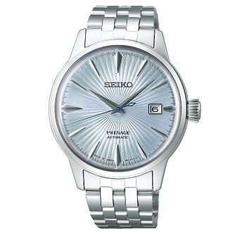 Seiko Presage Men's Stainless Steel Bracelet Watch - Product number 1169483