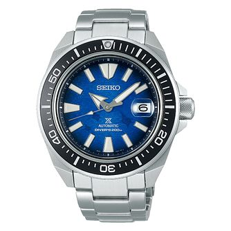 Seiko Prospex Diver's Save The Ocean Stainless Steel Watch - Product number 1169491