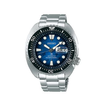 Seiko Prospex Diver's Save The Ocean Stainless Steel Watch - Product number 1169521